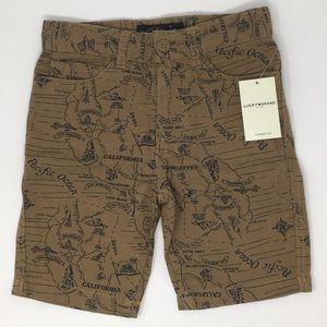 Lucky Brand Boy's Little Twill Shorts size 6